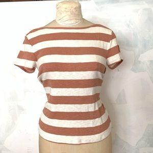 Madewell striped top - sz m
